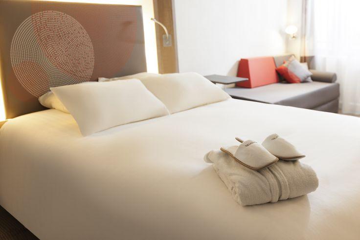 Chambre Executive de l'hôtel Novotel #ClermontFerrand http://www.hotel-novotel-clermontferrand.com/fr/reservation/chambre-executive-vip.html