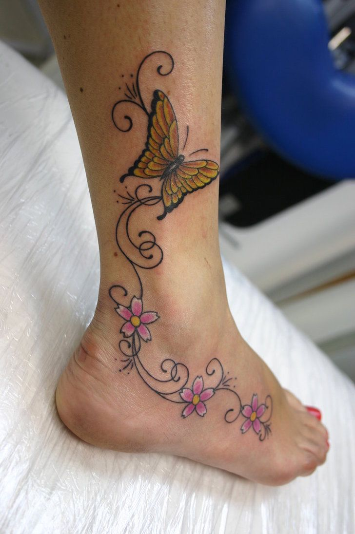 Sexy Foot Tattoo Designs | Tattoo Designt