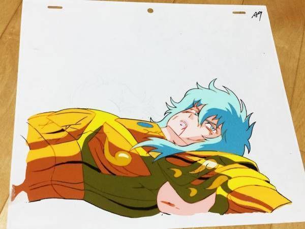 Anime Cel Saint Seiya Golden Seishi Pisa Aphrodite Picture Japan Masami Kurumada