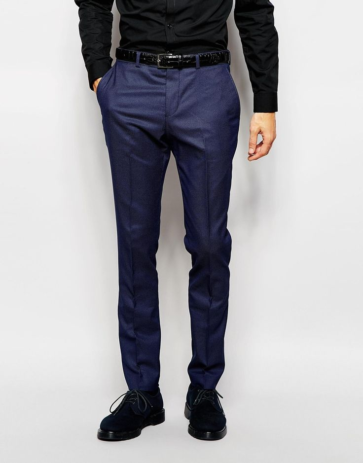 Selected Homme Pindot Suit Trouser in Skinny Fit