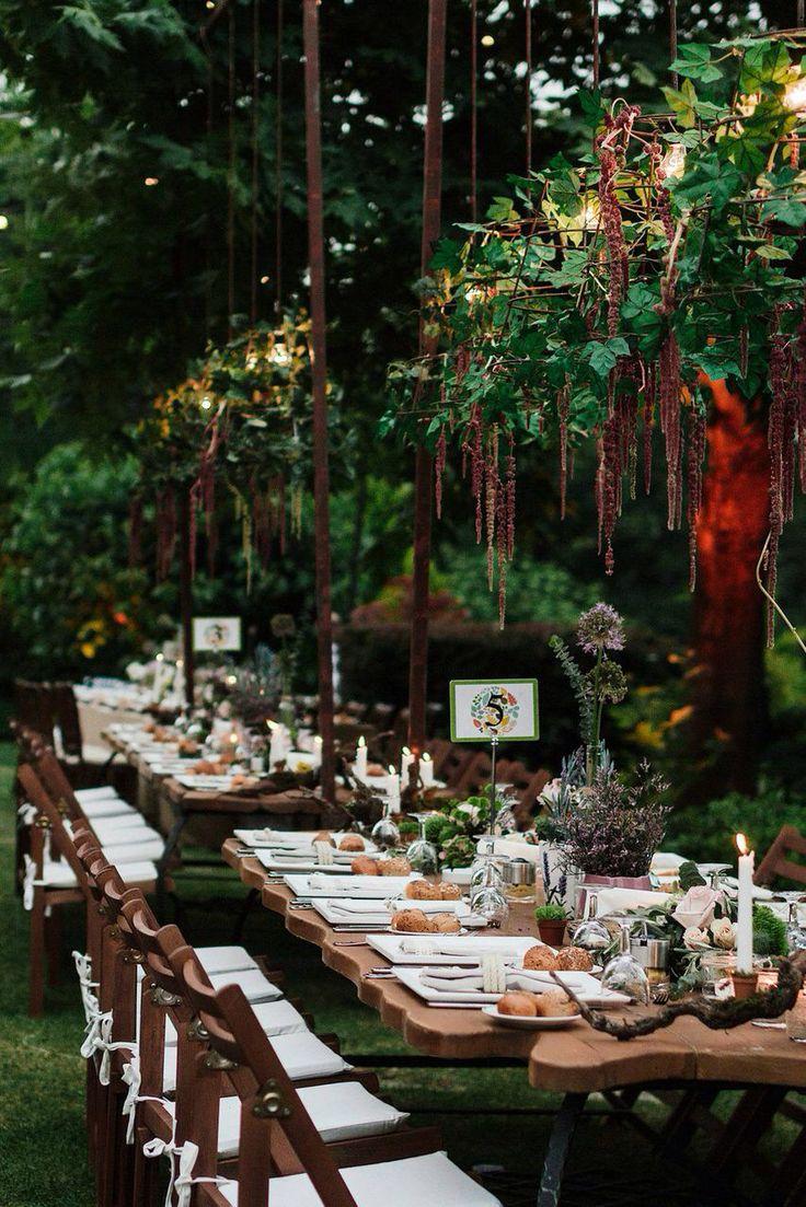 Countryside table decor