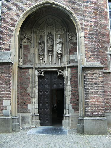 Churchdoor in Kranenburg  Germany