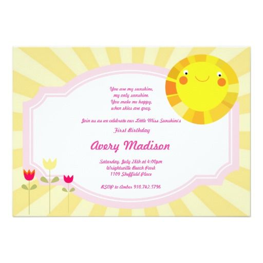 434 best summer baby shower invitations images on pinterest, Baby shower invitations