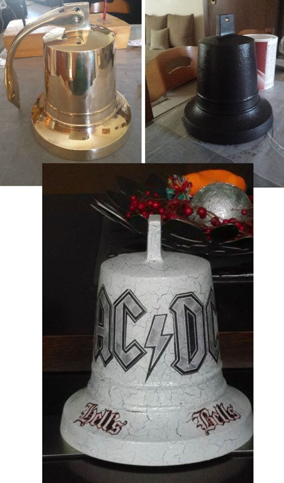 ACDC Bell ...  before and after..