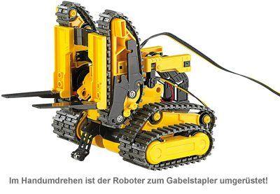 Ferngesteuertes 3in1 Kettenfahrzeug - Roboter Bausatz - 3