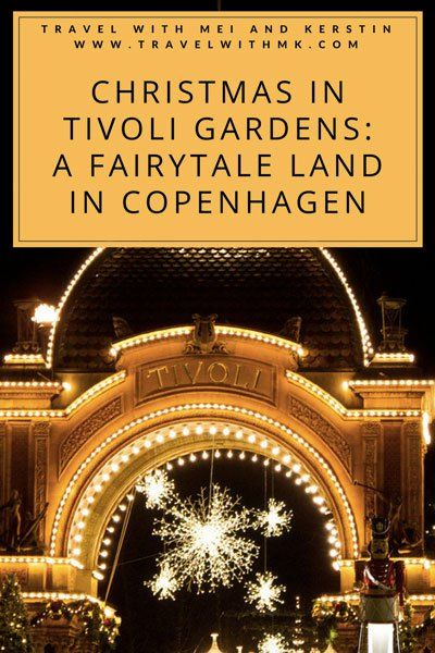 Christmas in Tivoli Gardens: A Fairytale Land in Copenhagen © Travelwithmk.com
