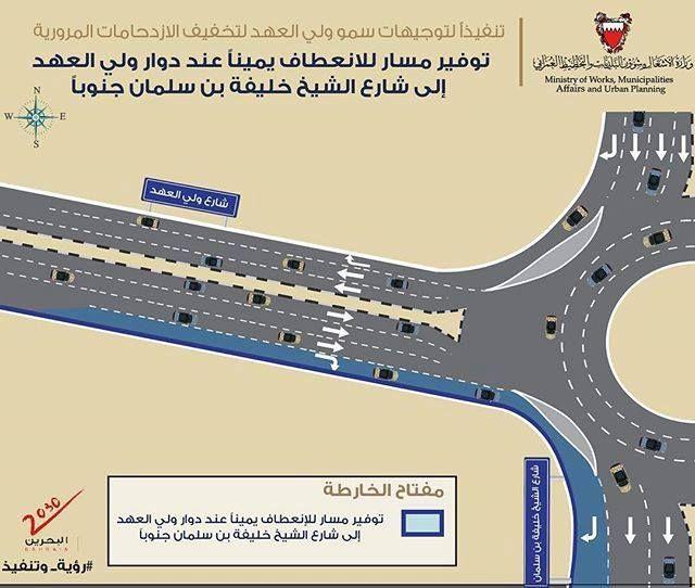 Bahrain Works تنفيذا لتوجيهات صاحب السمو الملكي الأمير سلمان بن حمد آل خليفة ولي العهد نائب القائد الأعلى النائب الأول لرئيس مج How To Plan Municipality Photo