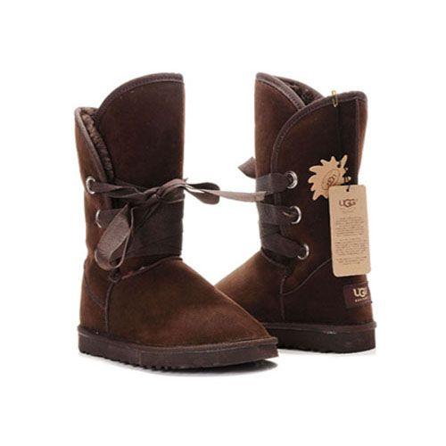 UGG Roxy Short Boots 5828 Chocolate  http://uggbootshub.com/ugg-boots-short-ugg-roxy-short-boots-5828-c-18_43.html