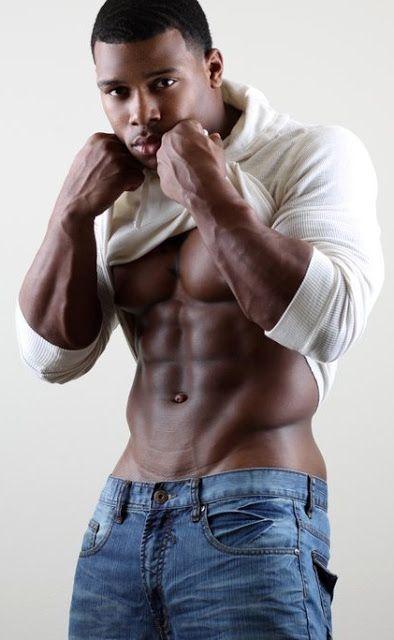Black.Muscles - Incredible muscle black guy