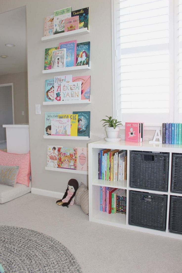 They make such a great use of space in this playroom - every area has a different purpose!