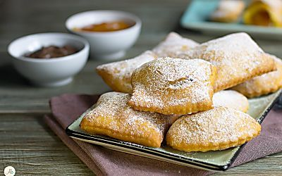 Galani ripieni - crostoli, chiacchiere, ravioli dolci, rafioli...