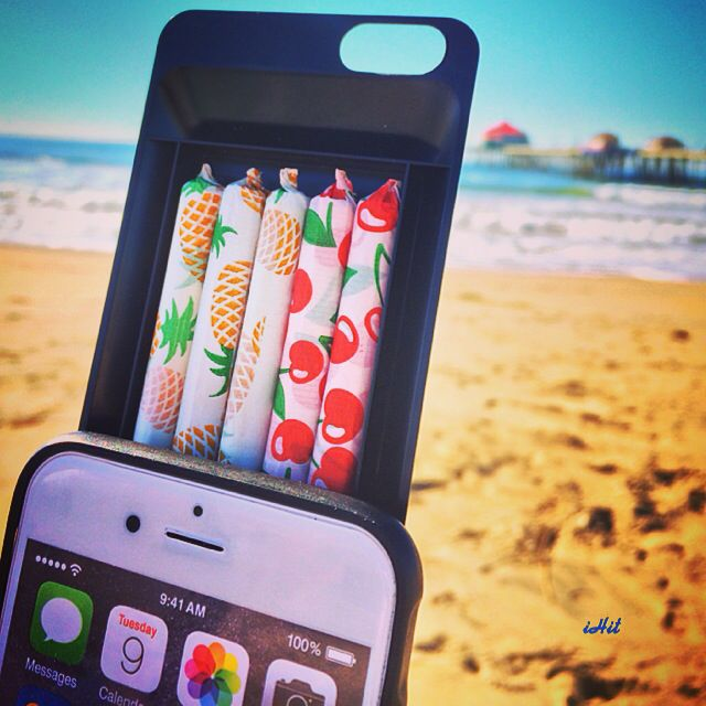 @proulxjustice How to bring joints into your next concert...Stash up to 5 pre rolled joints or blunts with the iHiT phone case! Hit up TheiHit.com and get yours now!