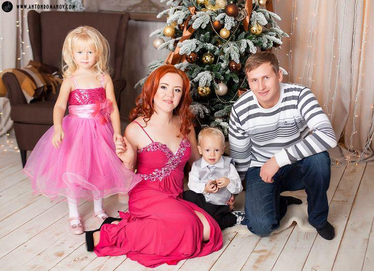 Новогодняя фотосессия с ребенком