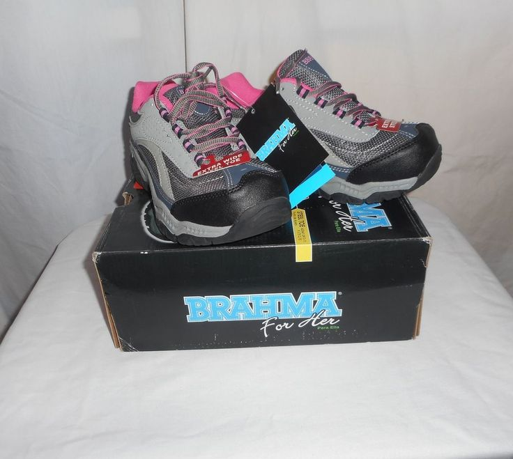 Womens Brahma for Her Size 6 Extra Wide Steel Toe Athletic Style Shoes New #Brahma #SteelToeAthletic