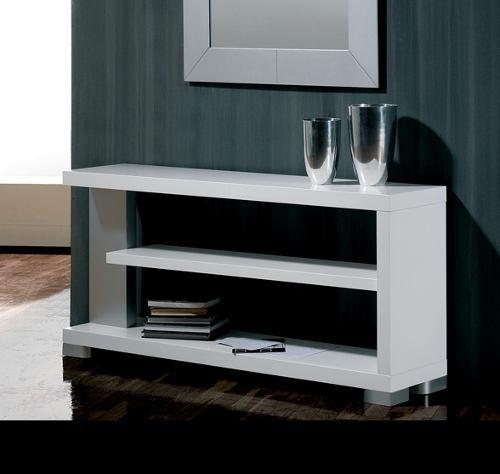 Recibidor estante mesa arrime biblioteca progetto mobili for Progetta mobili