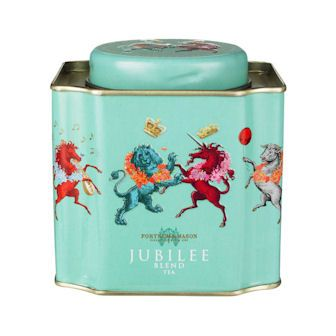 UPDATED: OH MY, THIS IS ONE FINE CUPPA.  THANK YOU, LADY ALICE!       Oh, I want!  Fortnum and Mason's exclusive Diamond Jubilee blend:  Blending teas from India, Ceylon and China, this noble tea offers mellow sweetness and golden brightness and is truly fit for a queen. Presented in our decorative Jubilee caddy, which is decorated with our specially commissioned Jubilee design, it will make a lasting memory of this happy and historic occasion.