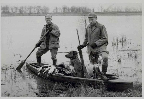 Vintage hunting picture