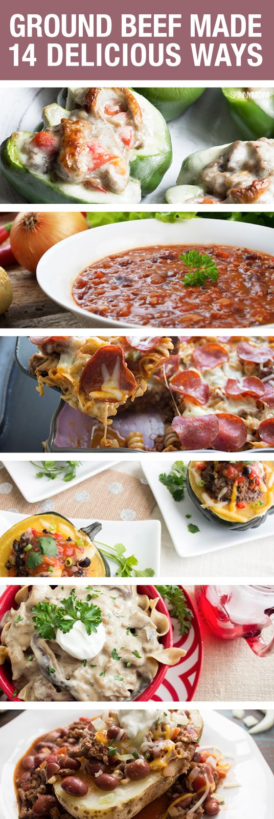 Great recipe ideas for dinners healthy dinners for Good dinner recipes with ground beef