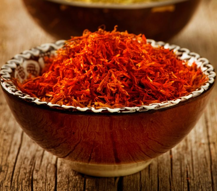 The mild and subtle flavours of saffron are perfectly b…