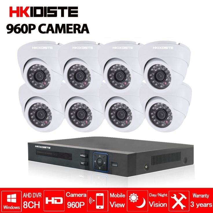 215.99$  Watch now - http://ail55.worlditems.win/all/product.php?id=32798356328 - Home 8CH CCTV Security System 8 channel HDMI 1080P AHD DVR HD 960P 1.3MP Indoor dome Camera kit Video Surveillance System