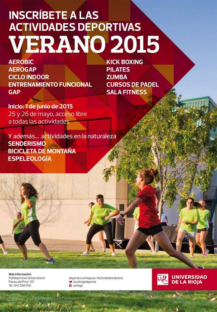 Jornada de Puertas Abiertas Verano 2015 con UniRioja Deportes http://www.unirioja.es/apnoticias/servlet/Noticias?codnot=8228&accion=detag&month=5&year=2015