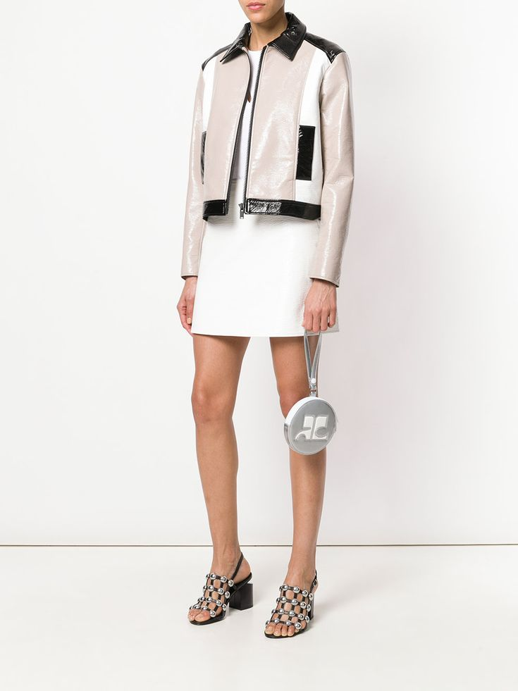 #courreges #new #clutch #wallet #bag #silver #metallic #style #fashion    www.jofre.eu