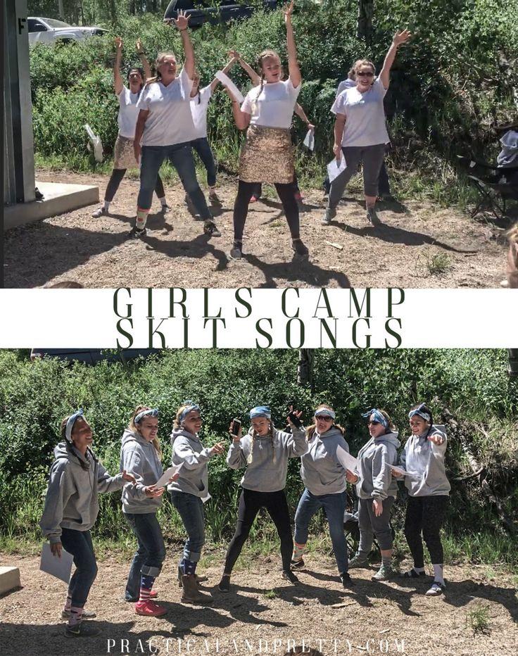 Funny Girls Camp Skit Songs Camp skits, Girls camp games