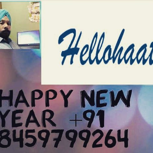 Happy New year to all my online friends