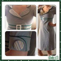 Trin for trin guide til at sy en jerseykjole. Billedguide til at sy din egen jerseykjole med simple syteknikker, som er perfekte til let øvede syere.