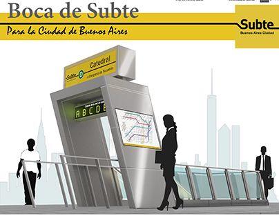 """Check out new work on my @Behance portfolio: """"Boca de Subte"""" http://be.net/gallery/51380387/Boca-de-Subte"""