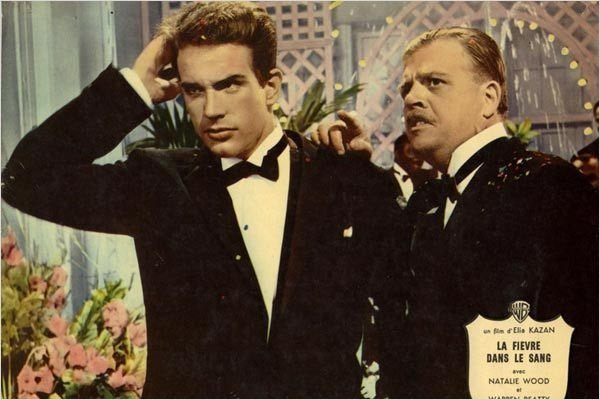 Splendour in the Grass : photo Elia Kazan, Pat Hingle, Warren Beatty