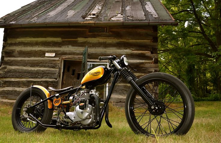 T-66: Triumph Bobber, Bikes, Cars, Motorcycle Pictures, Custom, Bobbers Choppers Motorcycles