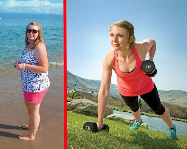 How One Woman Lost Nearly 100 Lbs by Making Weight Loss Fun  - Photo by: Courtesy of Kacey Lauchnor / Erik Ostling http://www.womenshealthmag.com/weight-loss/kacey-lauchnor-success-story