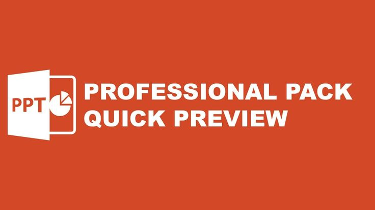 Powerpoint Template Professional Pack Quick Preview
