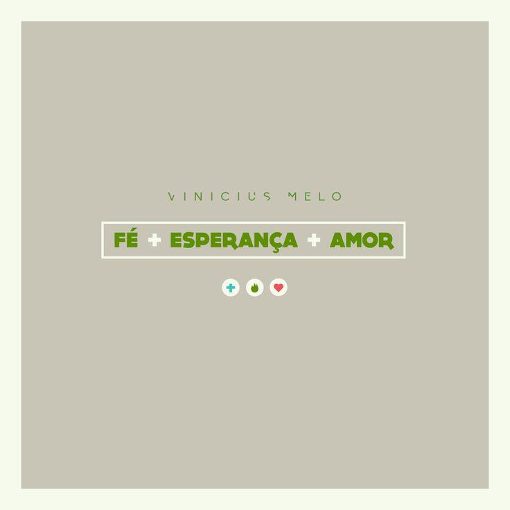CD Fé + Esperança + Amor  Já tem o seu?!  Adquira o seu: http://bit.ly/1yHNzdc