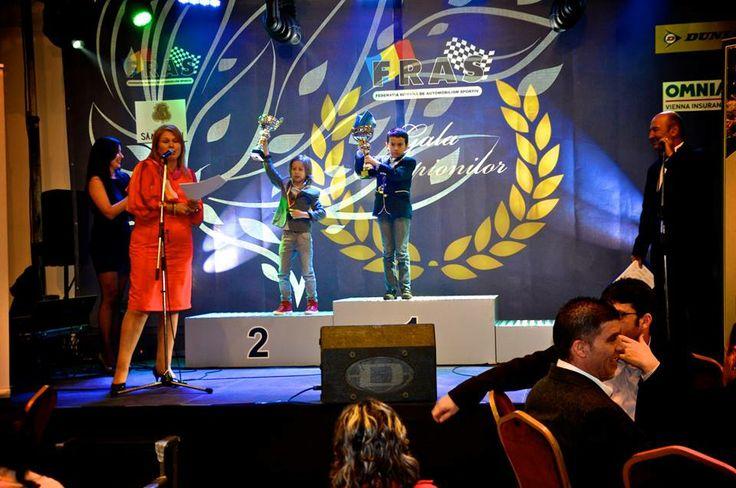#matia58 Romanian National Vice-Champion Title  - 2013 FRAS Champions Gala @PalatulStirbey #kidkarting #crg #fras #karting #matiacuruia #6years #vice-champion #awards #cup