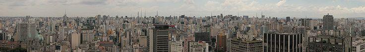 Vista Panorâmica da Cidade de São Paulo