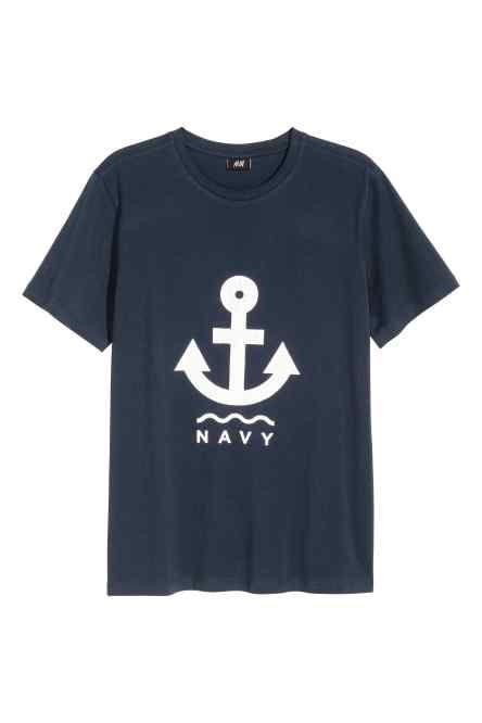 Camiseta con motivo estampado