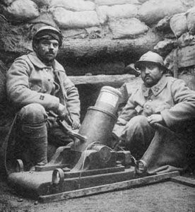 Mortier Van Deuren. Les Français à Verdun - 1916