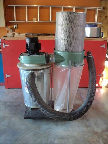 Harbor Freight Tools Dust Collector Seperator Modification