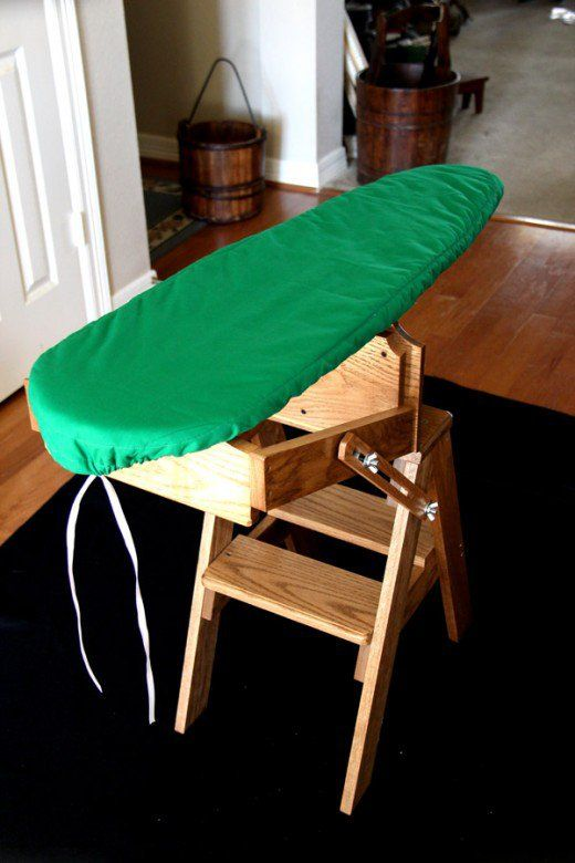 Optional ironing board cover