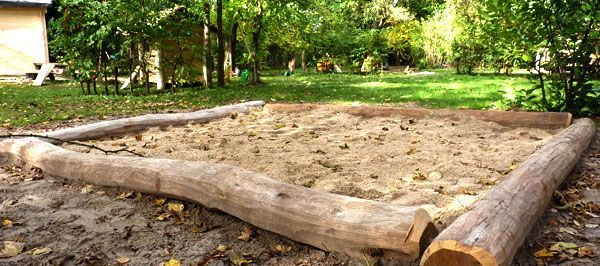 Bildergebnis Fur Sandkasten Aus Traktorreifen Sandkasten Garten Garten Spielplatz Gartendesign Ideen