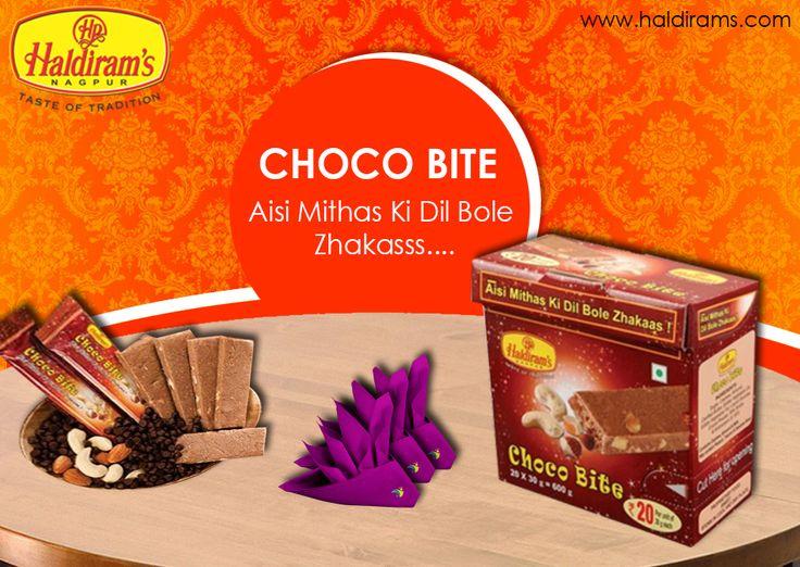 Haldiram's Exotic Choco Bite. For More Details  : http://www.haldirams.com/sweets/packed-sweet/choco-bite.html #Haldirams #HaldiramsNagpur