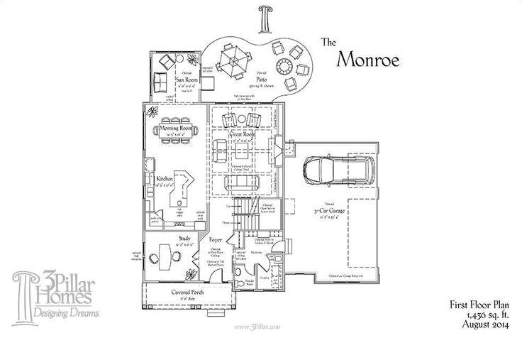 1000  ideas about 3 pillar homes on pinterest