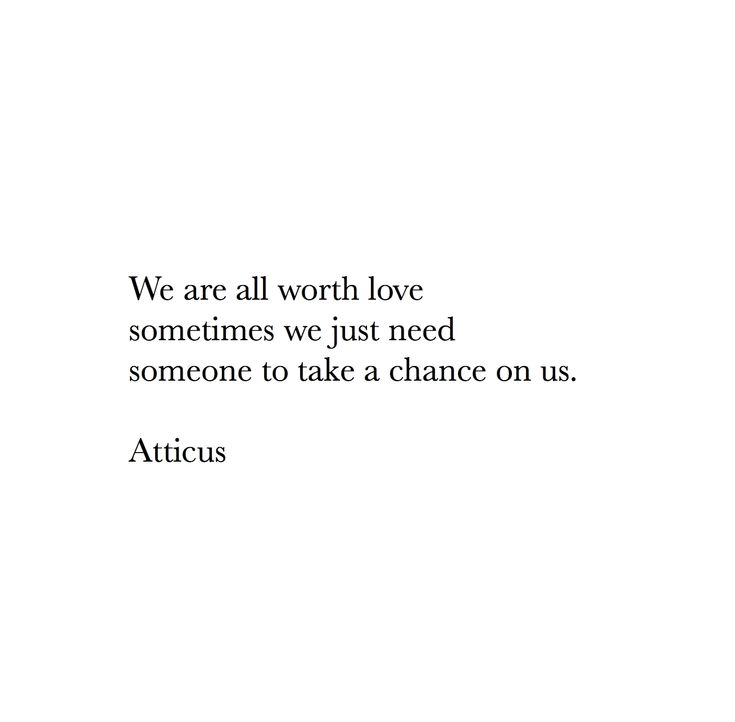 'Chance' #atticuspoetry #atticus #love #chance