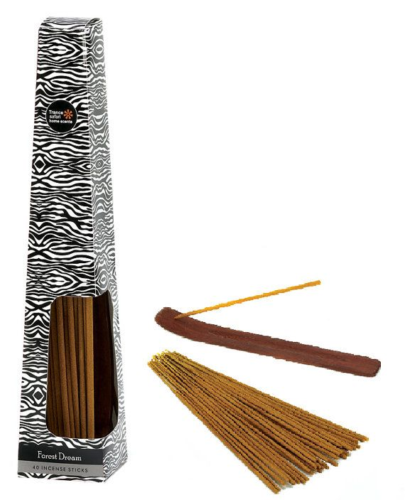 Woodsy Forrest Dream Incense Sticks in Zebra Print by LifeinLots