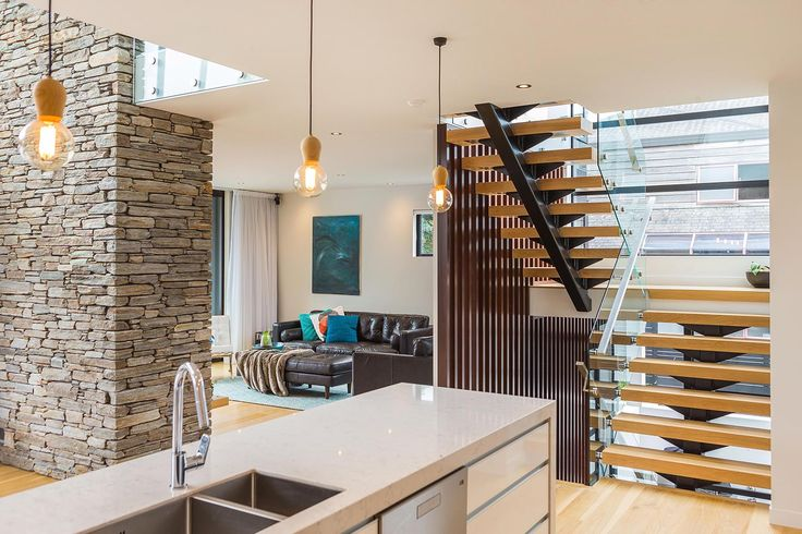 A beautiful stair deisgned by Mark Callander from Creative Arch #ADNZ #architecture #stair