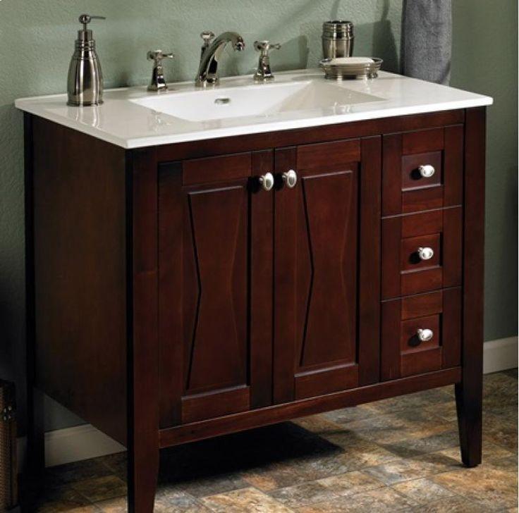 104v3621r By Fairmont Designs In Atlanta Ga Bowtie 36 Vanity Drawer Right Espresso Need
