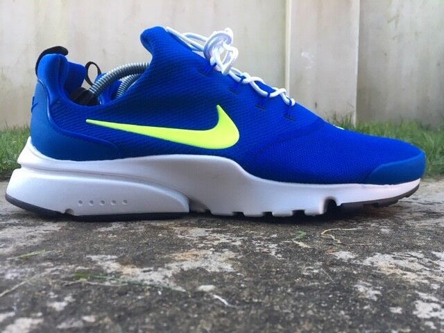 best service da083 9784f Nike ® Presto Fly Size 9 UK Mens Trainers EU 44 Blue 908019-407 NEW BOXED   Nike  RunningShoes