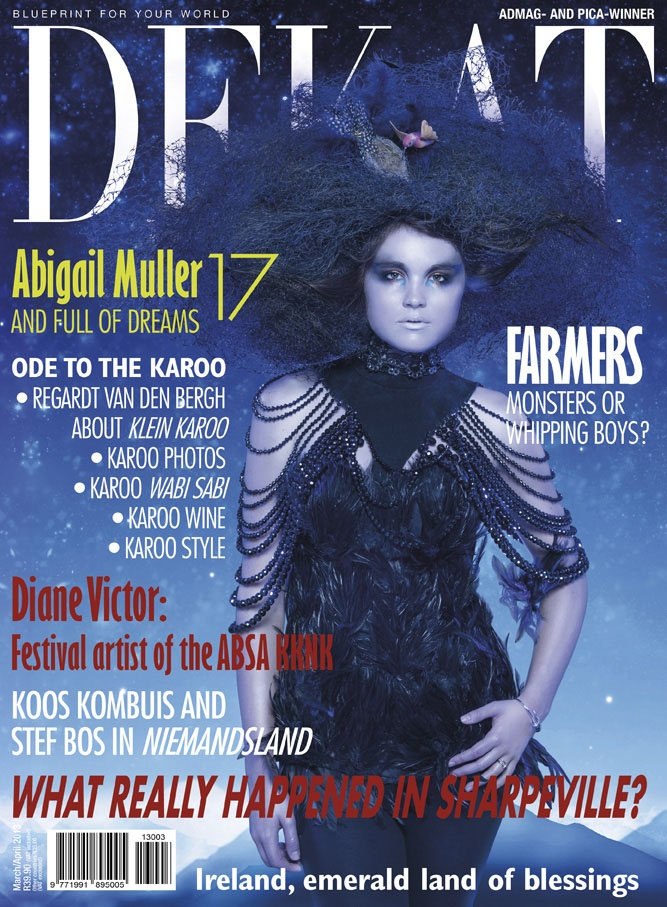 DEKAT March/April issue 2013 with Abigail (Abi) Muller. English edition.